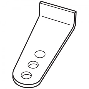 LiftMaster 207917 Round Post Bracket
