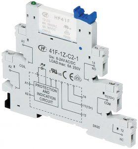 41F-1Z-C2-24 24V DIN Rail Relay Module