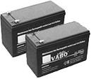 Pair of 12V Backup Batteries
