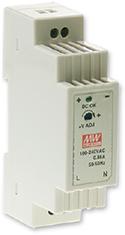 Meanwell DR-15-24 - 24V DIN Rail Slim Power Supply