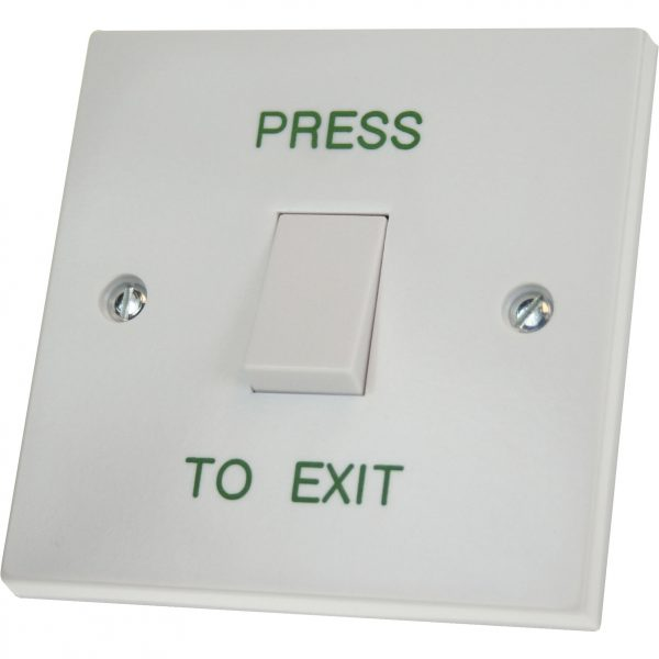 DRB-001N-PTE Press To Exit Push Button (Surface)