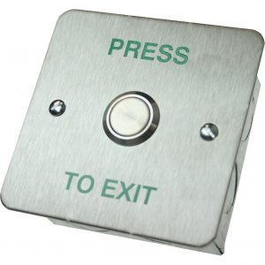 DRB-002F-PTE Press To Exit Push Button