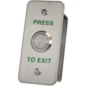 DRB-002NF-PTE Architrave Press To Exit Push Button