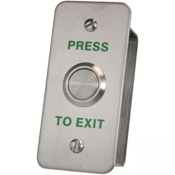 DRB-002NF-PTE Architrave Press To Exit Push Button