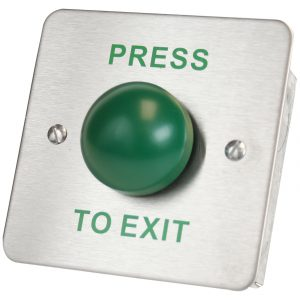 DRB-004F-PTE Domed Press To Exit Push Button