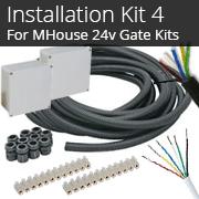 Installation Kit 4 - For 24v MHouse WG2