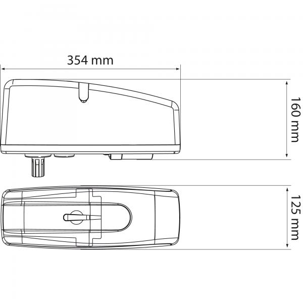 LiftMaster ART Series Dimensions