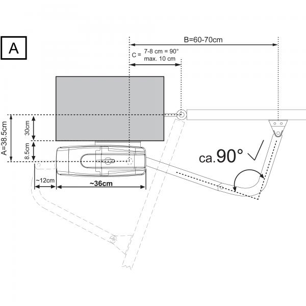 LiftMaster ART Series Geometry A