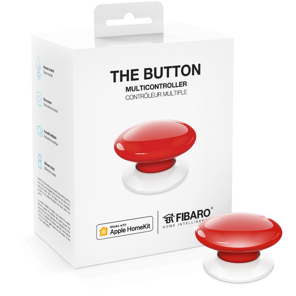 The Button Boxed (Red)