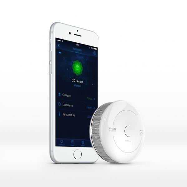 CO Sensor Smartphone