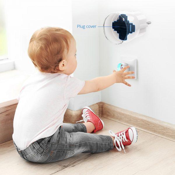 Wall Plug Protected
