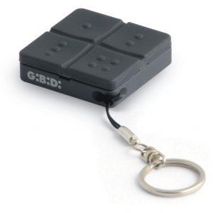Gibidi Domino Remote Control Keyring