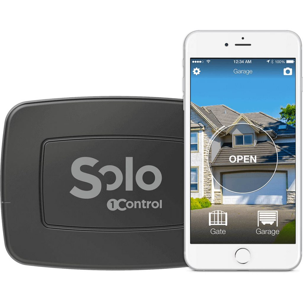 1Control Solo Device and Phone