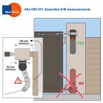 Alto 100/1 Aria200+400/1 Essential A/B measurements