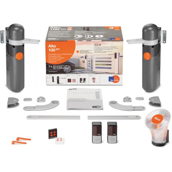 NiceHome ALTO 100 Kit Contents
