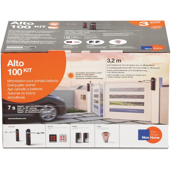 NiceHome ALTO 100 Kit Packaging