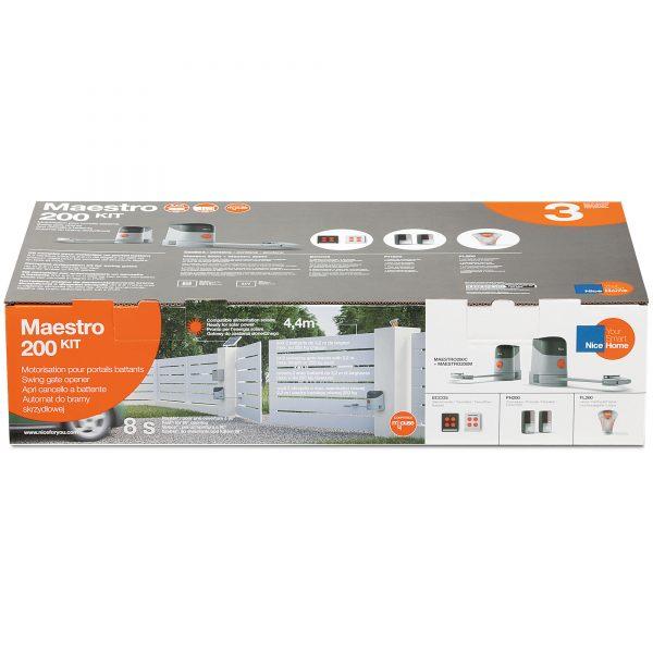 NiceHome Maestro 200 Kit Packaging