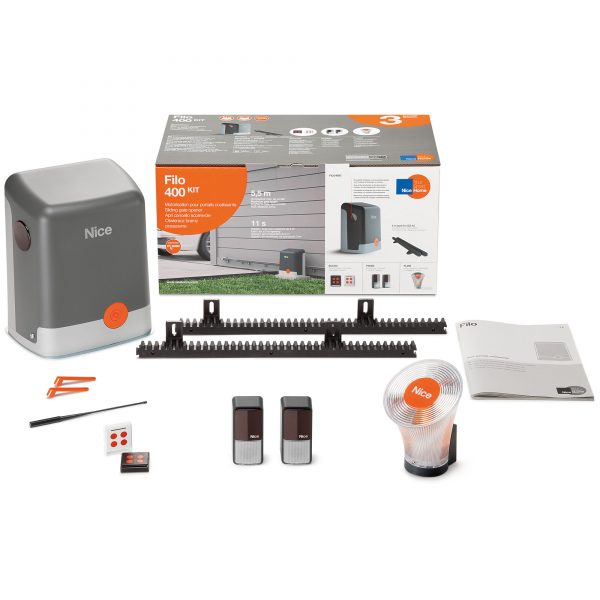 NiceHome FILO400 Kit Contents