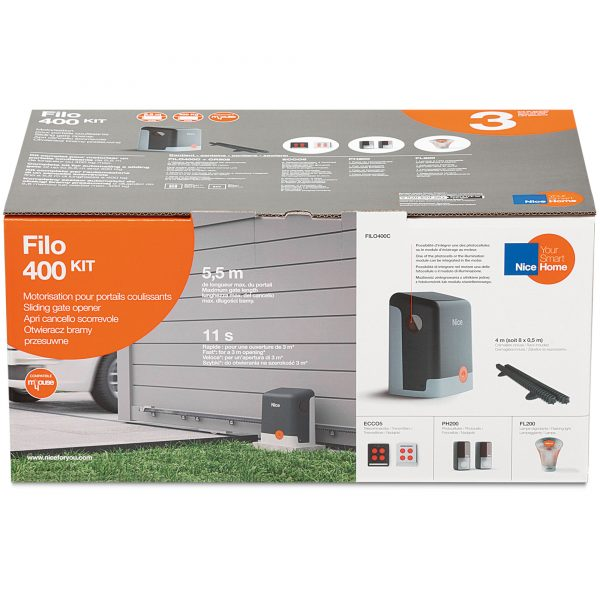 NiceHome FILO400 Kit Packaging