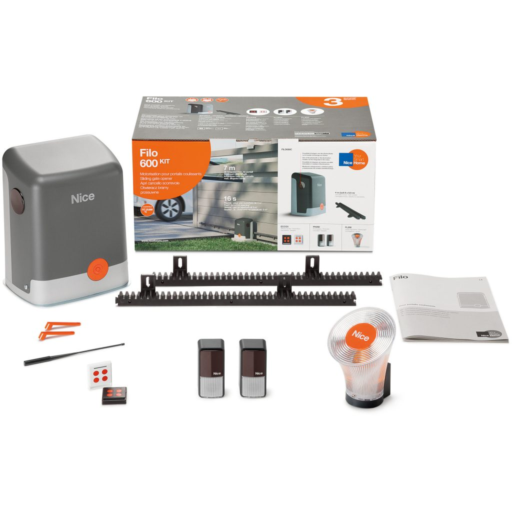 NiceHome FILO600 Kit Contents