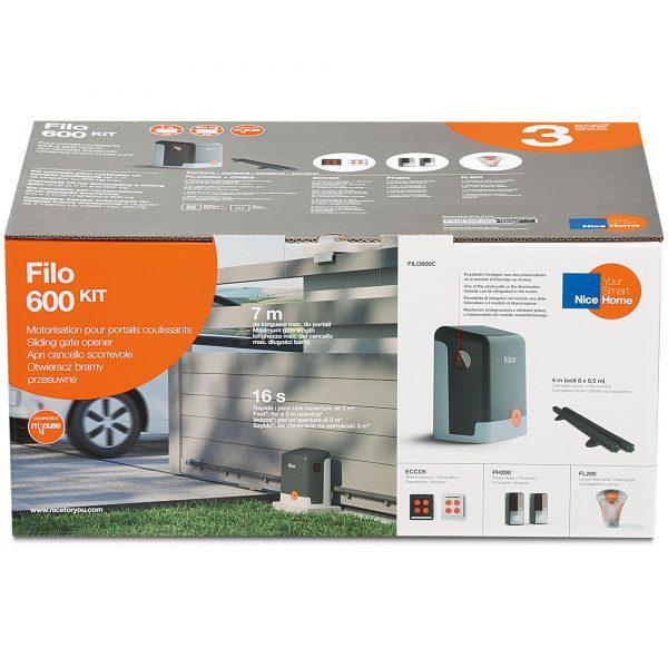 NiceHome FILO600 Kit Packaging