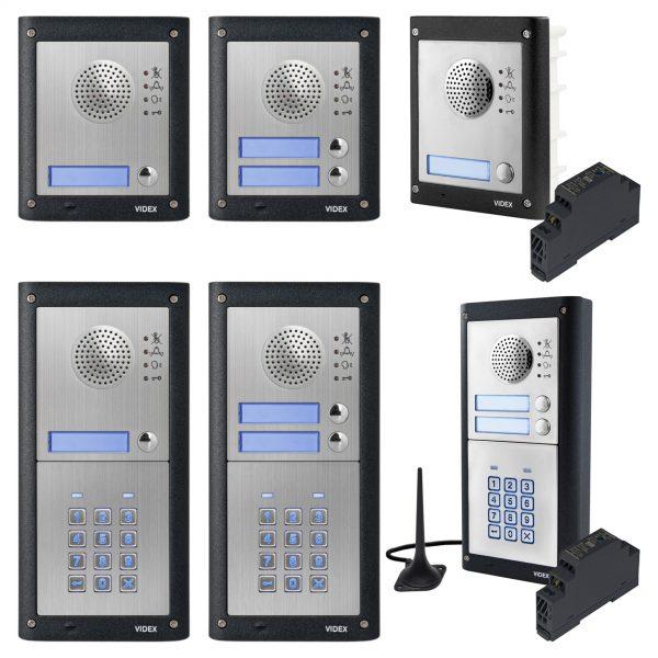 Videx 4000 Series GSM Intercom Comp
