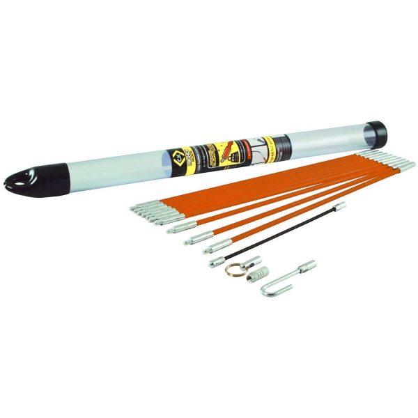 C.K Mighty Rod Tool Box Cable Rod Set 3.3m