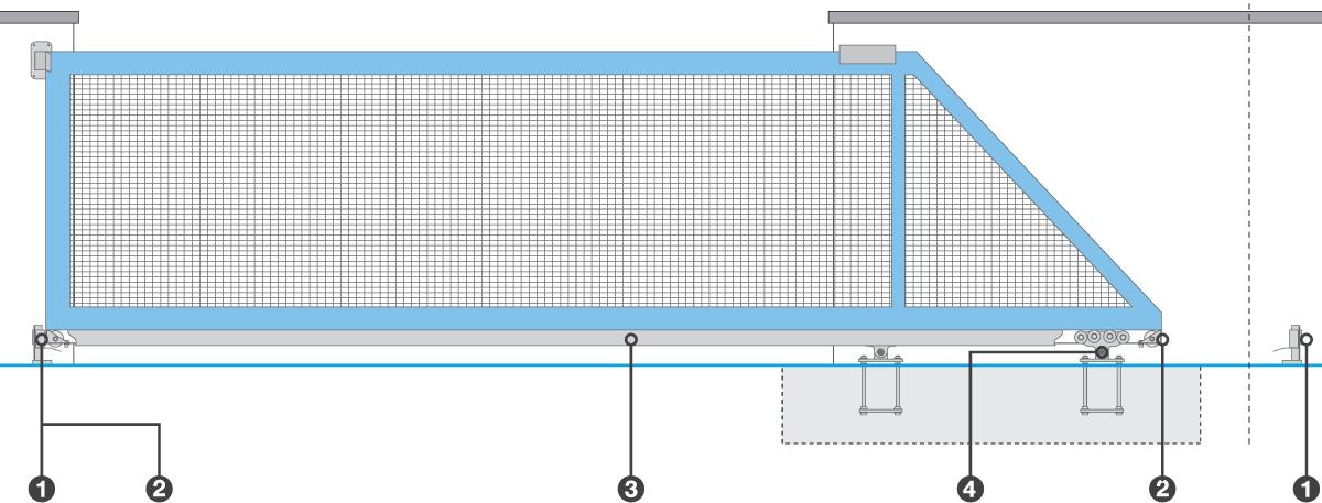 Cantilever System Diagram