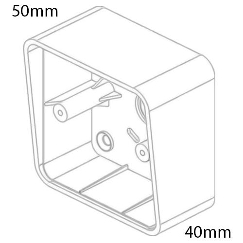 DRB-IR-1224S Infrared IR Push Button Dimensions 2