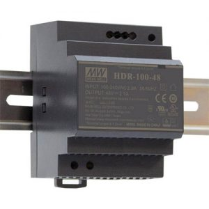 Meanwell HDR-100 Series DIN Rail PSU
