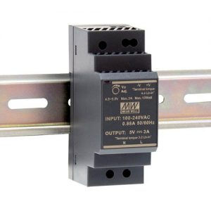 Meanwell HDR-30 Series DIN Rail PSU