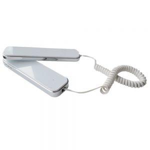AES SLIM-CL-EH-W Audio Handset