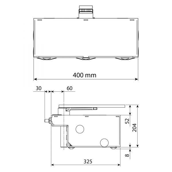 L-FAB Hi-Speed Dimensions Diagram