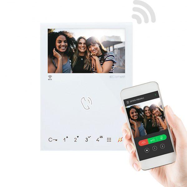 Comelit 6741W Wi-Fi Video Monitor In Situ