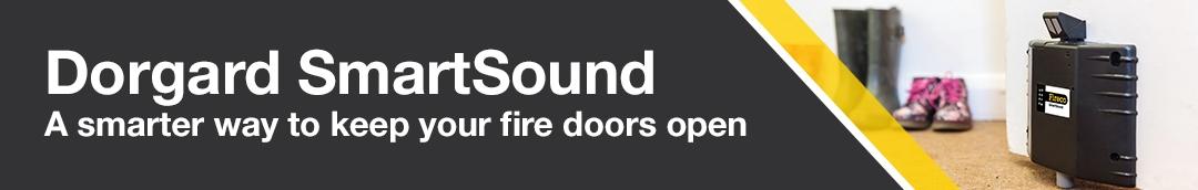 Dorgard SmartSound A smarter way to keep your fire doors open