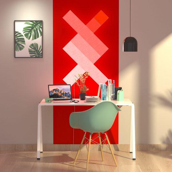 Nanoleaf Canvas 17 Red