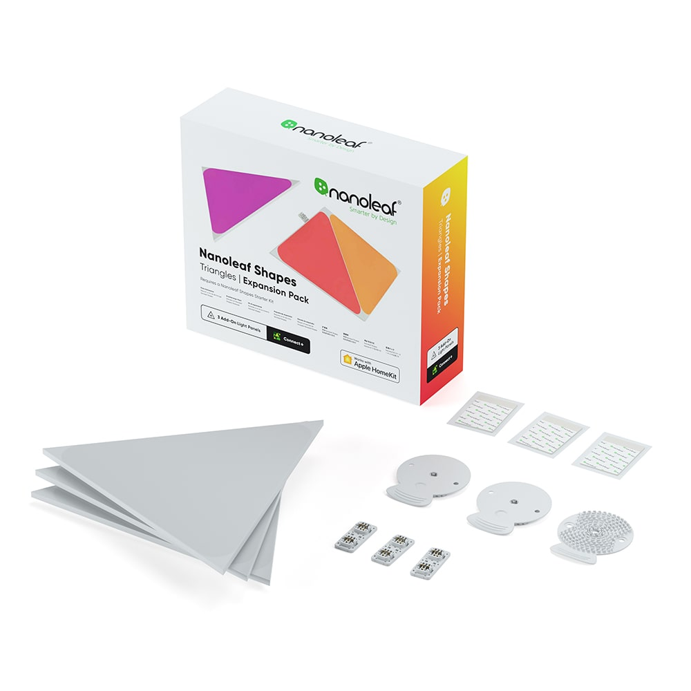 Nanoleaf Triangle Expansion pack 3 panels