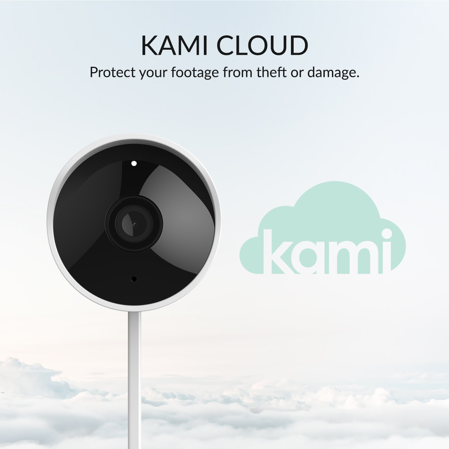 Kami Cloud - Protect your footage from theft or damage