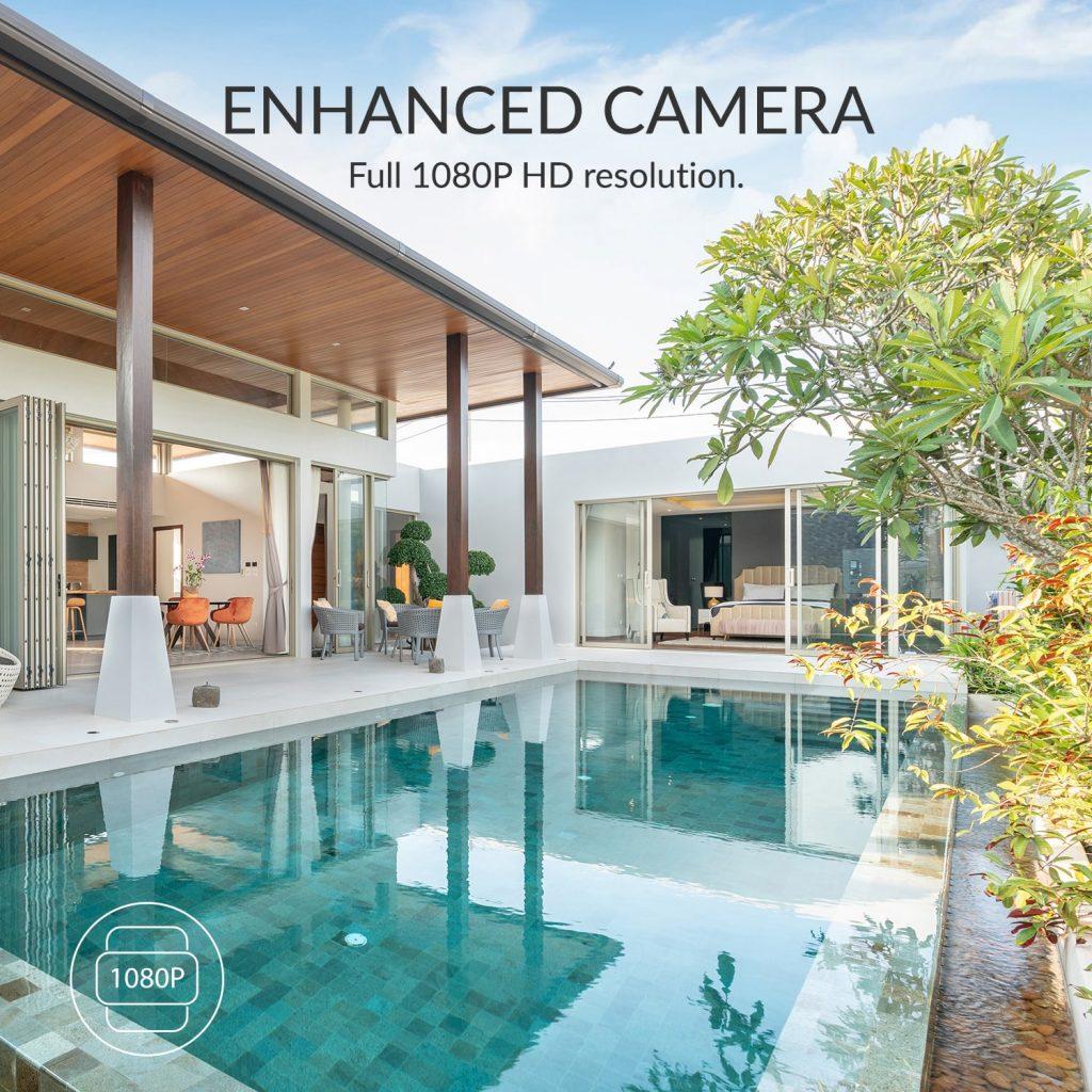 Enhanced Camera - full 1080p HD resolution