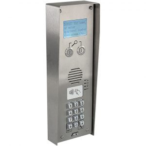 AES MultiCOM Classic 4G MULTI-CLASSIC-SSK-4GE Stainless Steel Intercom