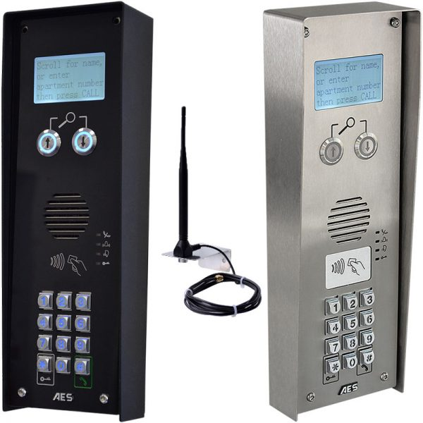 AES MultiCOM Classic 4G Series Intercom Compilation