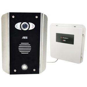 AES PRAE-4GE-AB Intercom Kit Contents