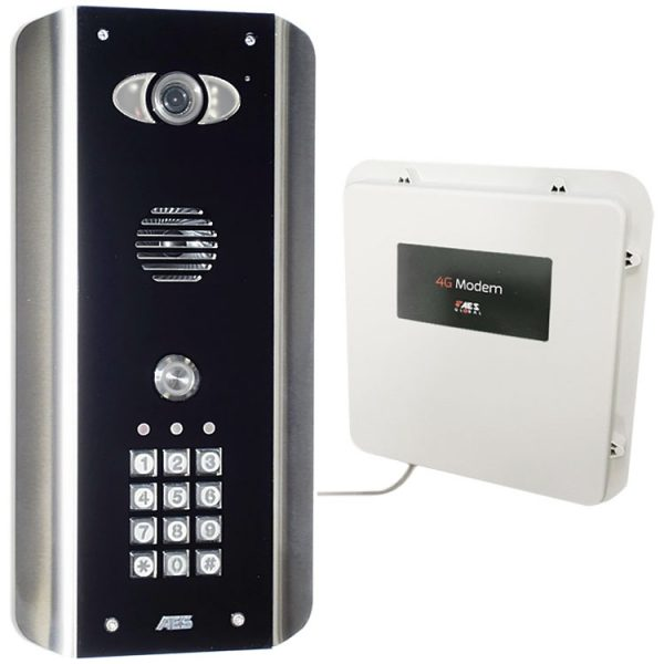 AES PRAE-4GE-ABK Intercom Kit Contents
