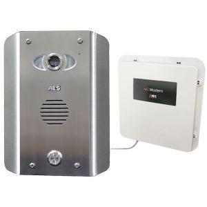 AES PRAE-4GE-AS Intercom Kit Contents