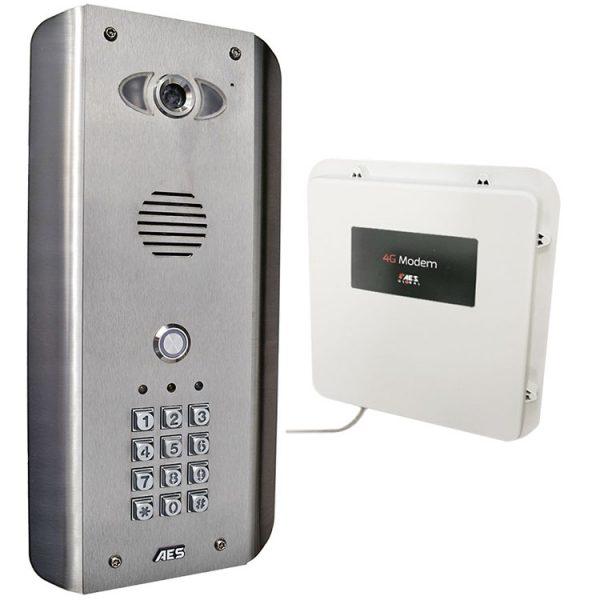 AES PRAE-4GE-ASK Intercom Kit Contents