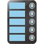 AES 5 Button Module