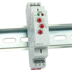 STM-10 Multi-Function DIN Rail Timer Relay